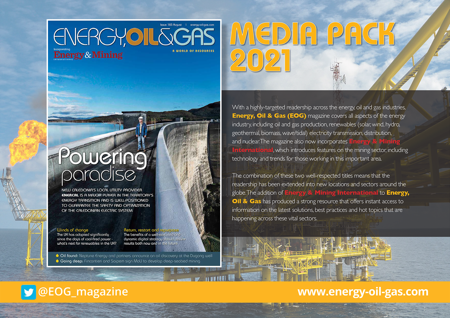 EOG Media pack 2021 - Front cover