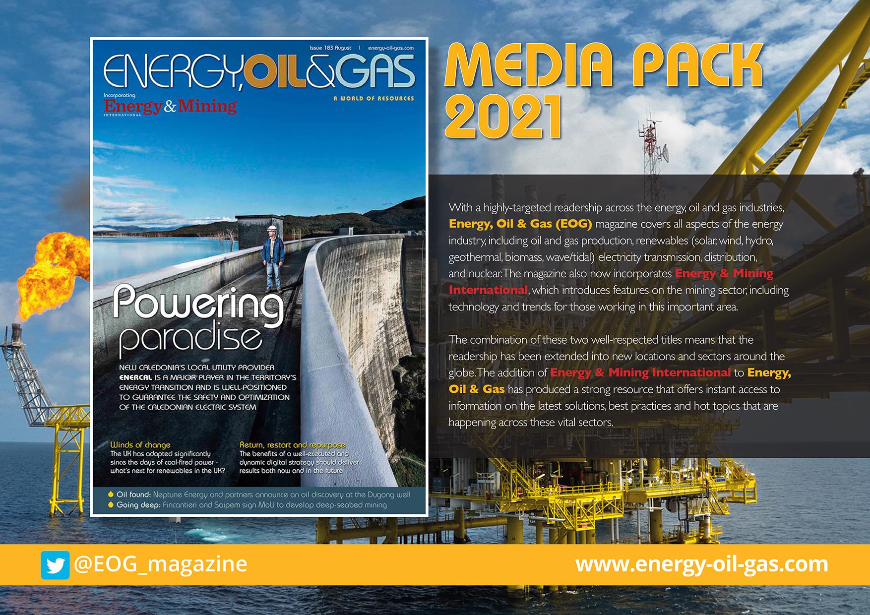 EOG Media pack 2021 - Front cover